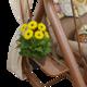 Фото №9 Садовые качели четырехместные БАРЫШНЯ