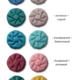 Фото №30 Подушка двухцветная круглая для подвесных кресел (коконов)