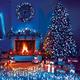Фото №2 Праздничная гирлянда НИТЬ голубой 5м IP20 400-001