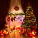 Фото №2 Праздничная гирлянда НИТЬ мульти 15м IP20 400-005