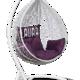 Фото №2 Подвесное кресло SEVILLA VELOUR белое