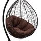 Фото №5 Подвесное кресло SEVILLA VERDE коричневое + каркас