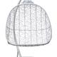 Фото №3 Подвесное кресло-кокон SEVILLA TWIN белое + каркас