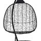 Фото №8 Подвесное кресло-кокон SEVILLA TWIN черное + каркас