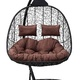 Фото №2 Подвесное кресло-кокон SEVILLA TWIN черное + каркас