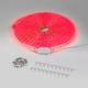 Фото №4 Комплект светодиодной ленты красной 10 м 4,4 Вт/м 60 LED 3528 IP65 LSTR001 220V 4,4W IP65