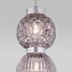Фото №4 Подвесной светильник со стеклянными плафонами 50186/2 хром