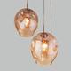 Фото №4 Подвесной светильник со стеклянными плафонами 50195/3 золото