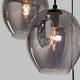 Фото №4 Подвесной светильник со стеклянными плафонами 50195/3 черный жемчуг