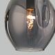 Фото №4 Подвесной светильник со стеклянным плафоном 50195/1 черный жемчуг