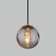 Фото №2 Подвесной светильник со стеклянным плафоном 50207/1 янтарный