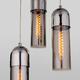Фото №4 Подвесной светильник со стеклянными плафонами 50180/3 дымчатый