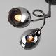 Фото №3 Потолочная люстра со стеклянными плафонами 30171/4 черный жемчуг