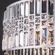 Фото №4 Подвесная люстра с хрусталем 10116/8 хром/прозрачный хрусталь Strotskis