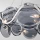 Фото №3 Подвесная люстра со стеклянным декором 321/6