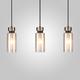 Фото №2 Подвесной светильник со стеклянными плафонами 50115/3 черный