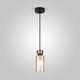 Фото №3 Подвесной светильник со стеклянным плафоном 50115/1 черный