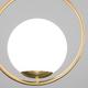 Фото №5 Подвесной светильник со стеклянным плафоном 50089/1 золото