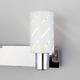 Фото №3 Настенный светильник с поворотными плафонами 20090/2 белый/хром