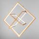 Фото №6 Подвесной светодиодный светильник 90224/3 матовое золото