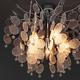 Фото №4 Потолочная люстра с декором из фактурного стекла 319/5