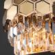 Фото №4 Настенный светильник с хрусталем 10113/2 золото/прозрачный хрусталь Strotskis