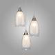 Фото №2 Подвесной светильник со стеклянными плафонами 50085/3 хром