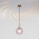 Фото №3 Подвесной светильник со стеклянным плафоном 50192/1 розовый