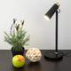 Фото №8 Светодиодный настольный светильник Joel черный/золото (TL70190)
