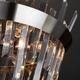Фото №4 Потолочная люстра с хрусталем 10111/5 сатин-никель/прозрачный хрусталь Strotskis