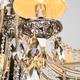 Фото №6 Хрустальная люстра с двойным вариантом крепления 315/12 Strotskis