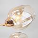 Фото №4 Потолочная люстра со стеклянными плафонами 30164/8 золото
