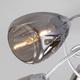 Фото №4 Потолочная люстра со стеклянными плафонами 30168/8 матовое серебро