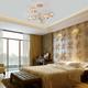Фото №3 Потолочная люстра со стеклянными плафонами 30166/6 золото