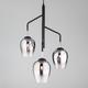 Фото №2 Подвесной светильник со стеклянными плафонами 50086/3 хром