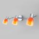 Фото №2 Настенный светильник с поворотными плафонами 20119/3 оранжевый