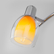 Фото №4 Настенный светильник со стеклянными плафонами 20119/3 желтый