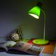 Фото №3 Настольный светильник с выключателем 01077/1 зеленый