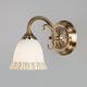 Фото №2 Бра со стеклянным плафоном 60107/1 античная бронза