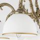 Фото №3 Классическая люстра со стеклянными плафонами 60106/5 античная бронза