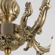 Фото №4 Классическая люстра со стеклянными плафонами 60106/5 античная бронза