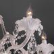Фото №4 Классическая подвесная люстра 10108/5 белый/прозрачный хрусталь Strotskis