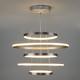 Фото №4 Подвесной светодиодный светильник с пультом управления 90179/5 сатин-никель