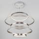 Фото №6 Подвесной светодиодный светильник с пультом управления 90179/5 сатин-никель