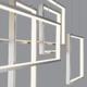 Фото №4 Подвесной светодиодный светильник с пультом управления 90178/5 сатин-никель