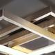 Фото №6 Потолочный светодиодный светильник 90177/3 сатин-никель