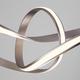 Фото №7 Подвесной светодиодный светильник 90174/1 сатин-никель