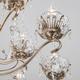 Фото №5 Большая подвесная люстра с хрусталем 10103/12 античная бронза/прозрачный хрусталь Strotskis