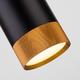 Фото №4 Подвесной светодиодный светильник 50164/1 LED черный/золото