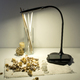 Фото №5 Светодиодная настольная лампа с беспроводной зарядкой 80419/1 черный